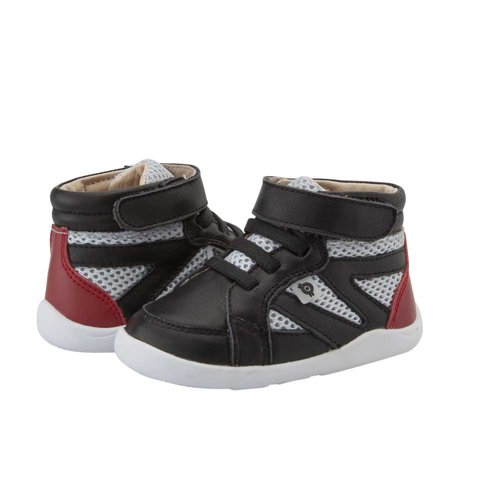 High Ground Toddler Shoe Black/Grey/Red