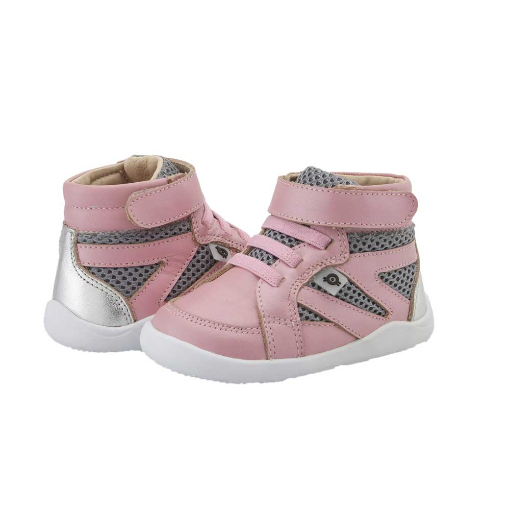High Ground Toddler Shoe Pearlised pink/Grey