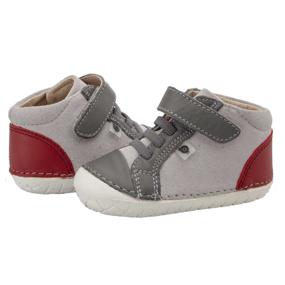 High Pave Toddler Shoe Grey/Red