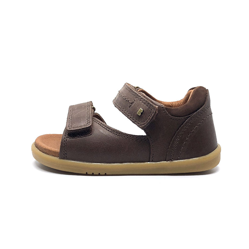 I Walk Driftwood Open Sandal Brown