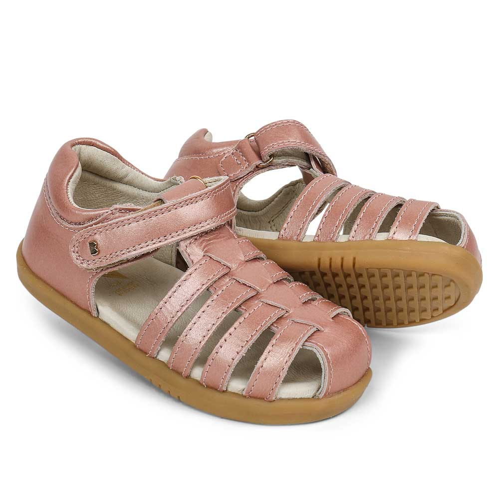 I Walk Jump Sandal Rose Gold