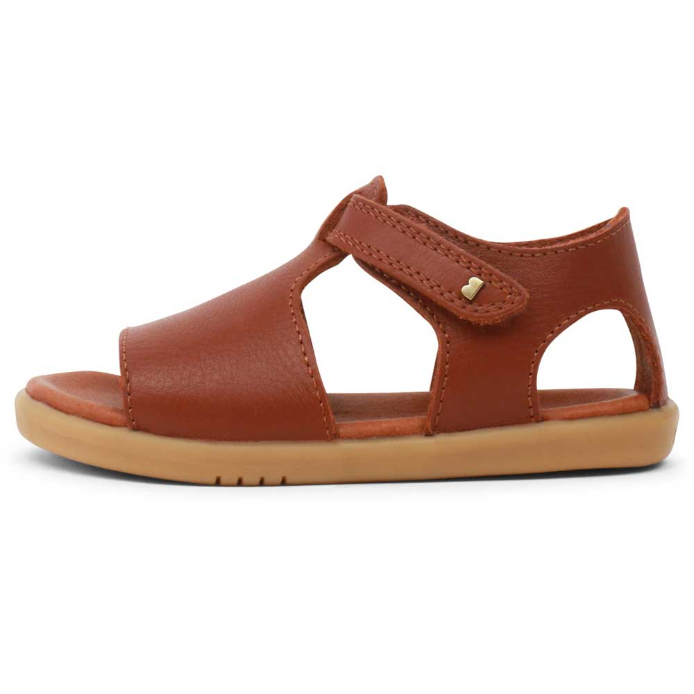 I walk Mirror Sandal Chestnut