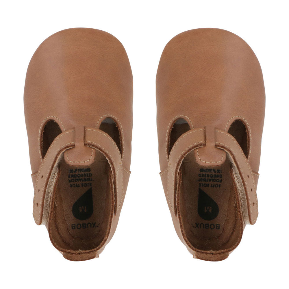 Caramel Jack and Jill Soft Sole Baby Shoes
