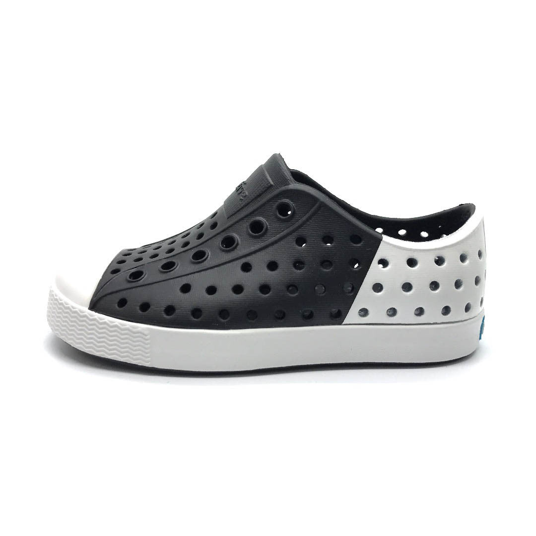 Jefferson Block Child Jiffy Black/Shell White