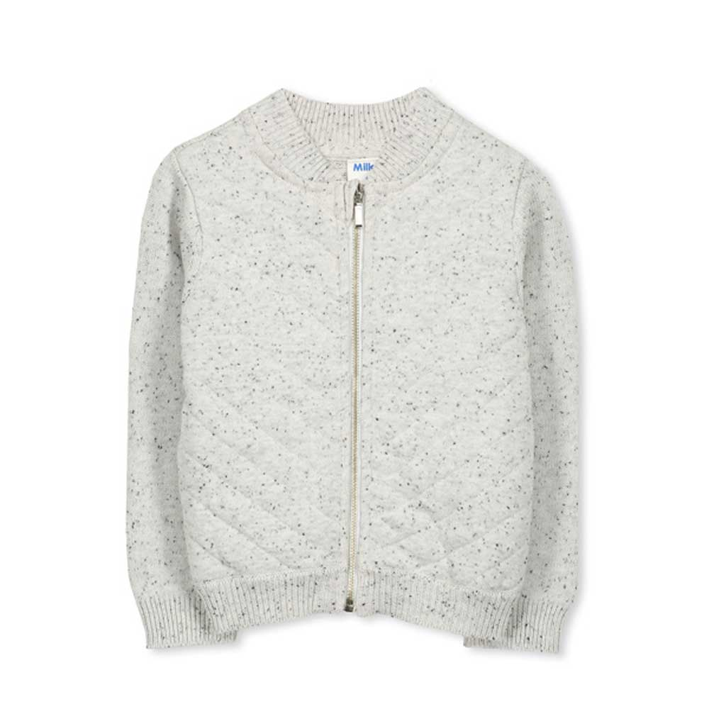 Knit Jacket Oatmeal