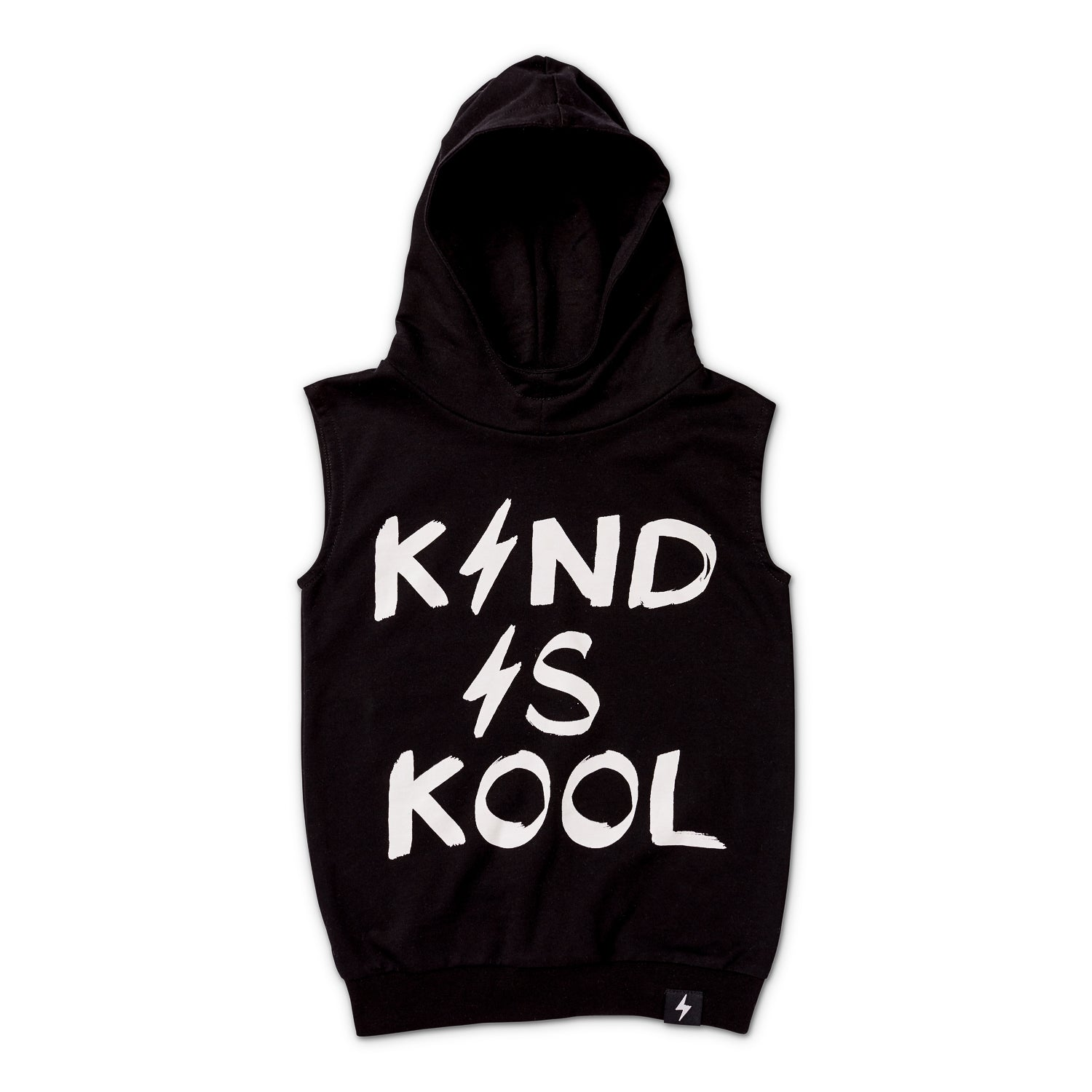 Kind is Cool Sleeveless Hood