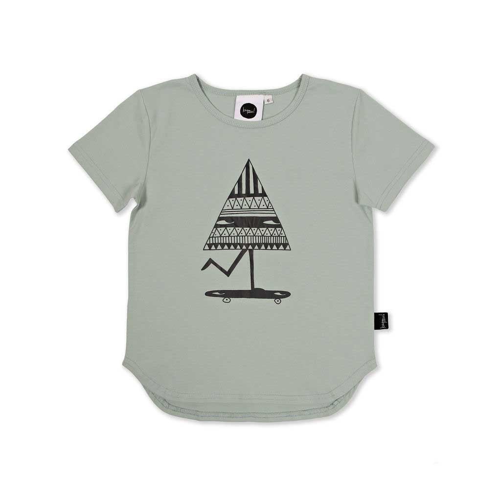 Roll with me placement T-Shirt Seafoam