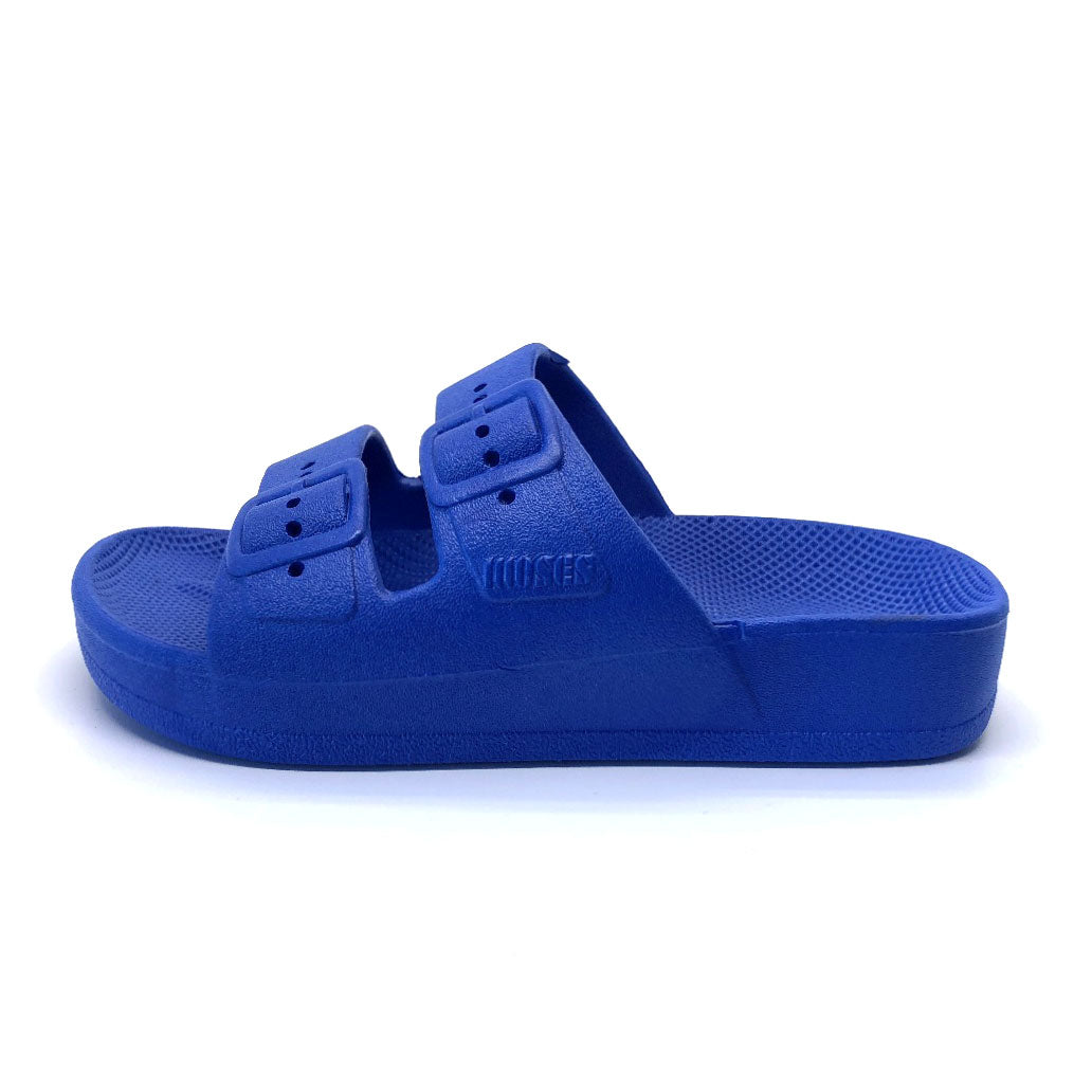 Kids Summer Slide Cobalt Blue