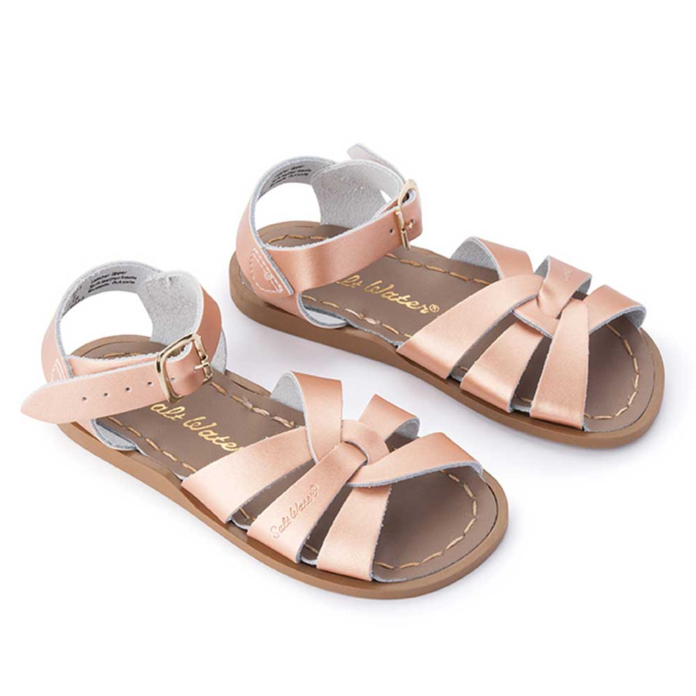 Rose Gold Saltwater Sandals