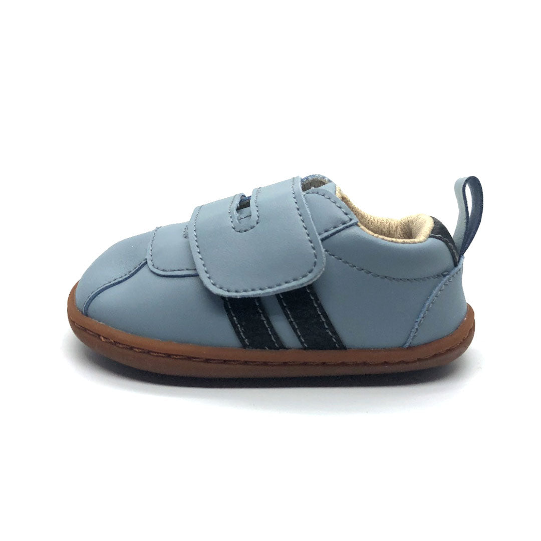 Toby Baby Shoe Light Blue and Navy