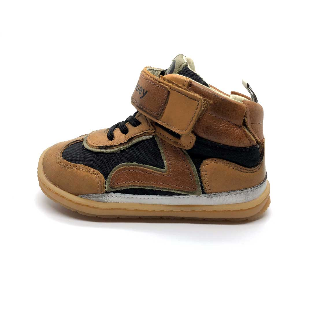 Leapy High Top Boots Black/Hay/Ochre
