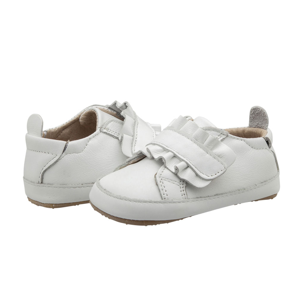 Little Frill Baby Shoe White