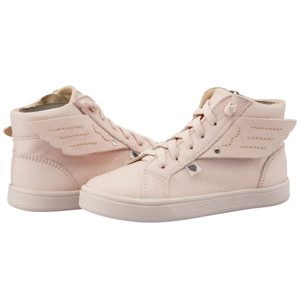 Local Wings High Top Powder Pink