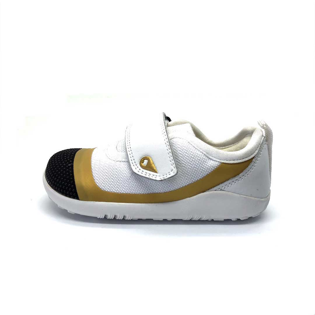 I Walk Lo Dimension Toddler Shoes White/Gold