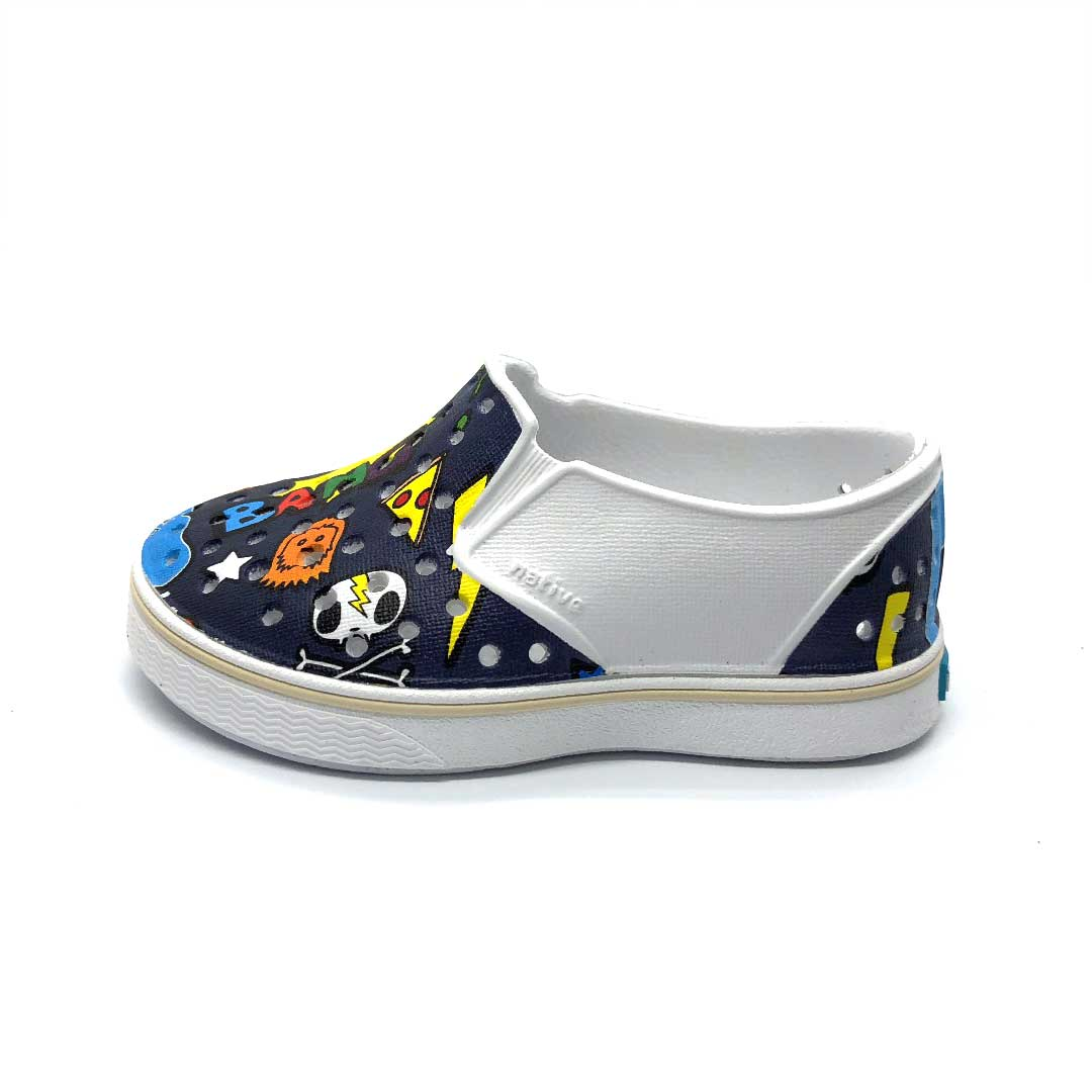Miles Shoes Stickerbook Regatta Blue