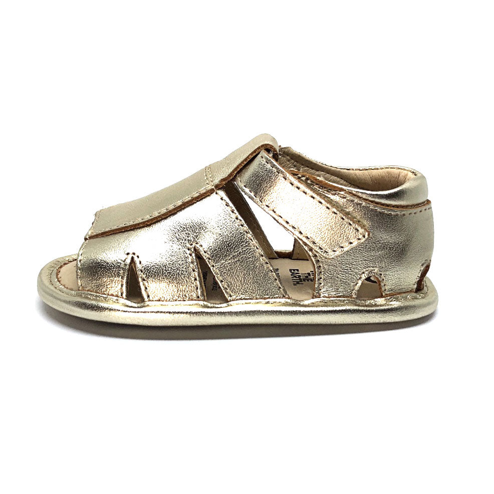 Mini Soda Baby Sandal Gold