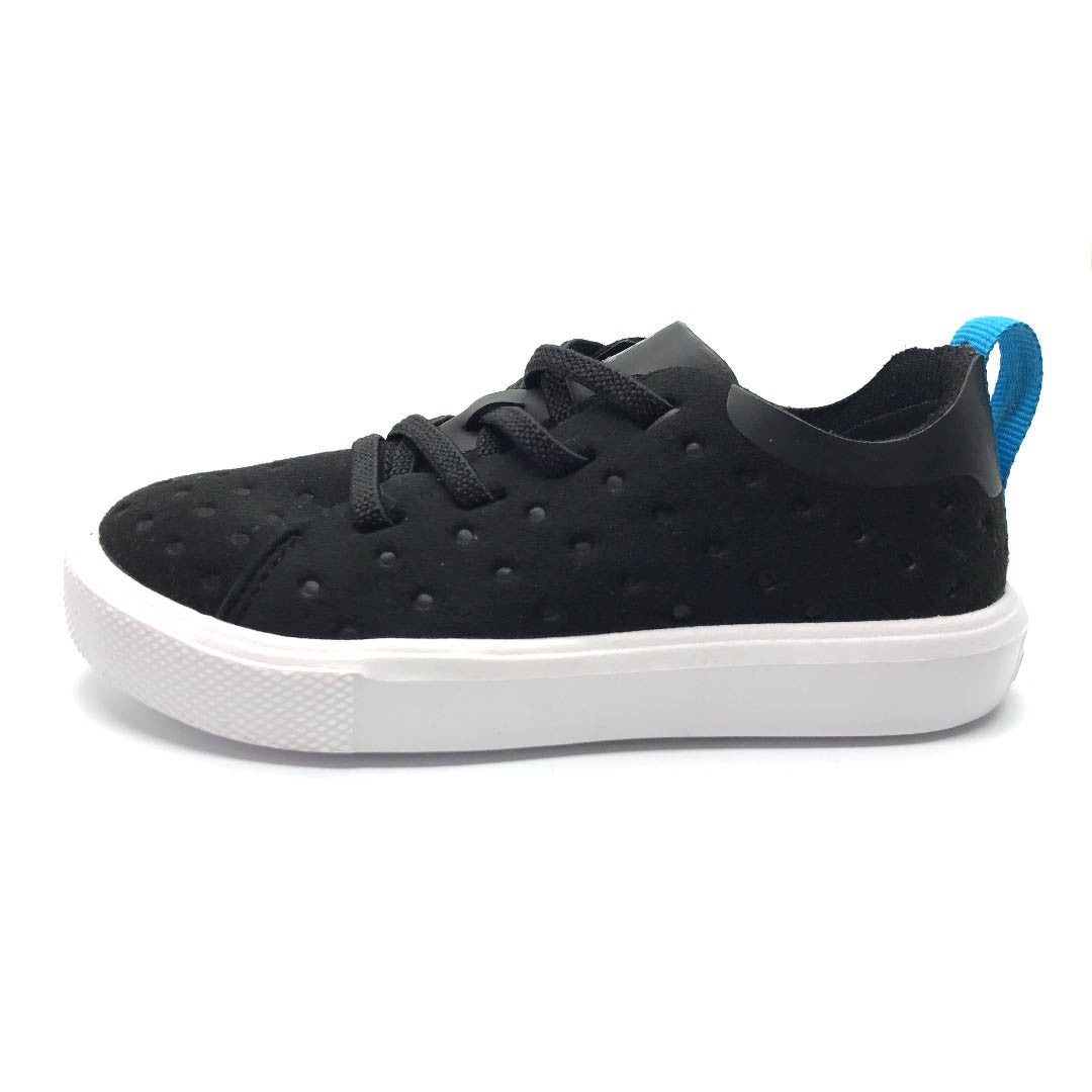Monaco Low Child Jiffy Black/Shell White