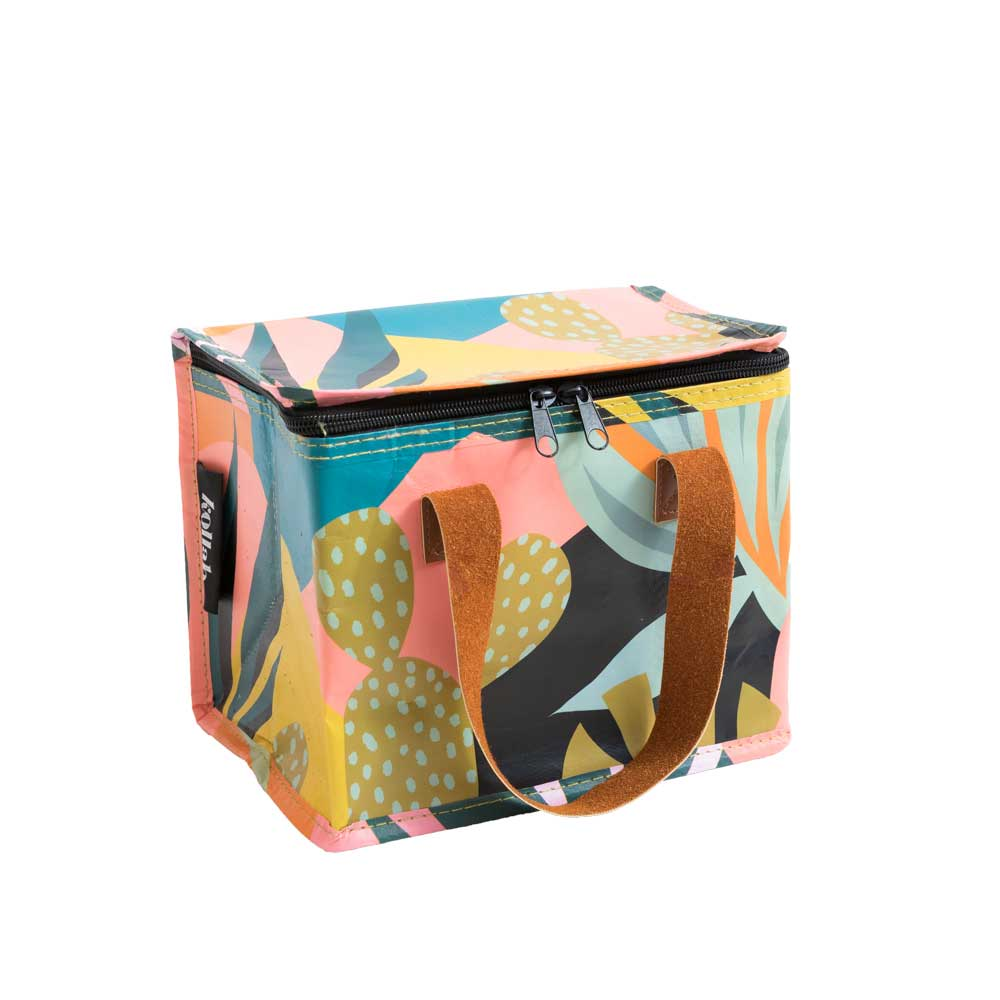 Poly Lunch Box Leopard Monstera
