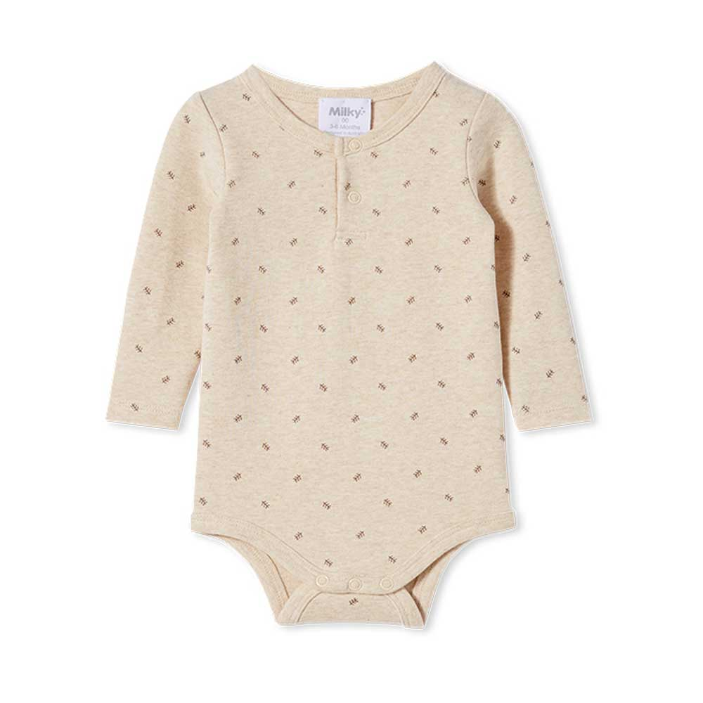 Rib Bubbysuit Natural marle