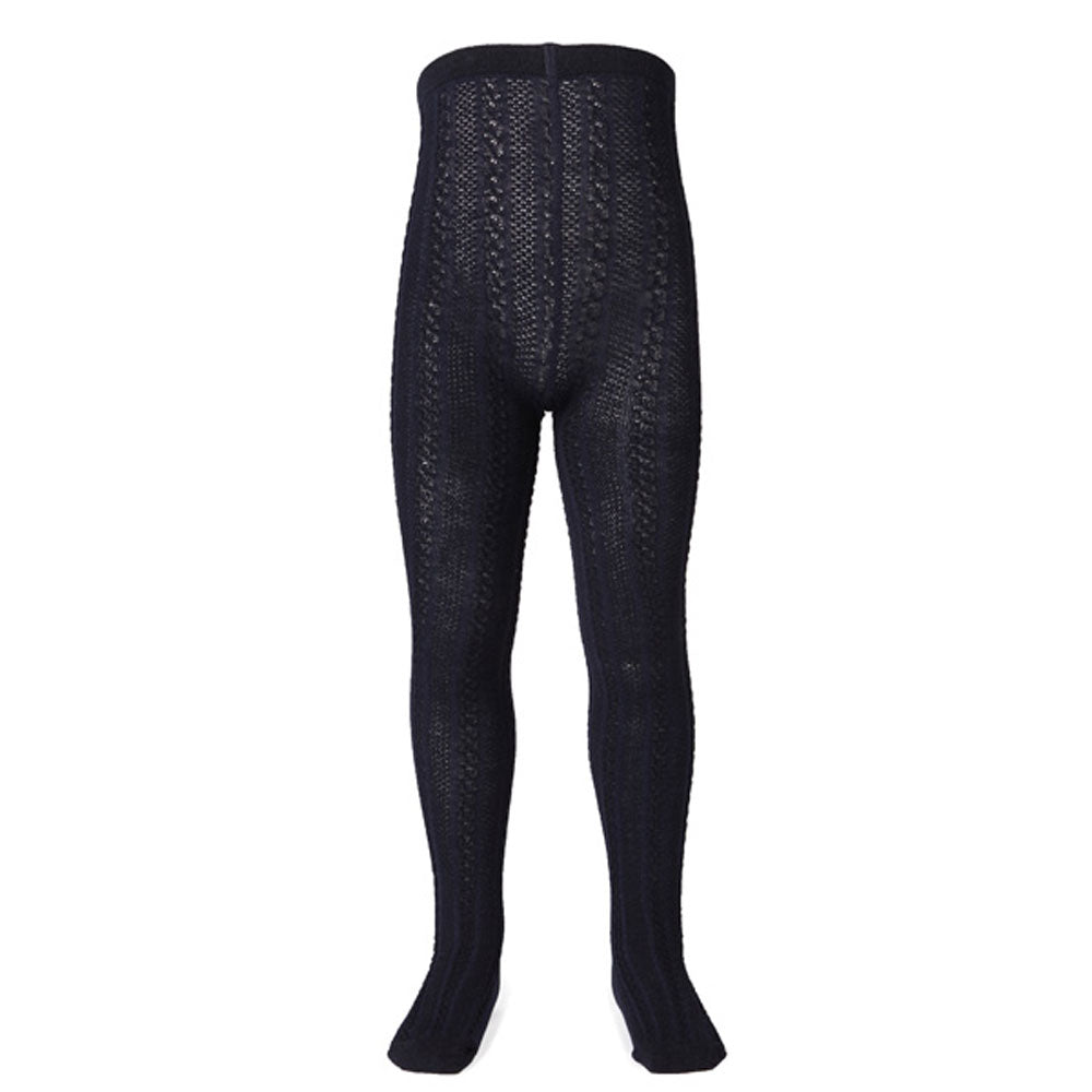 Jacquard Tight Navy