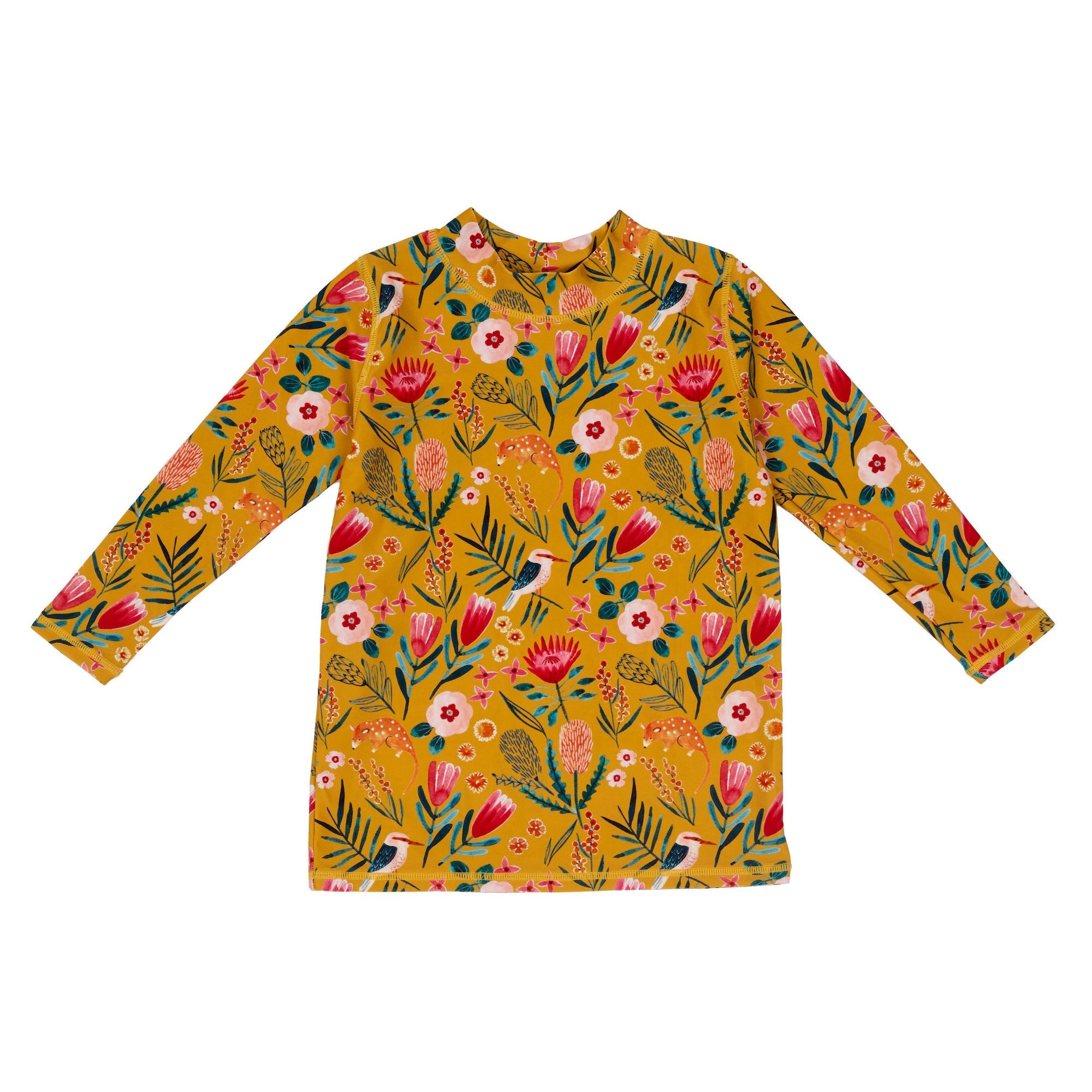 Native Garden Sun Protection Rash Vest
