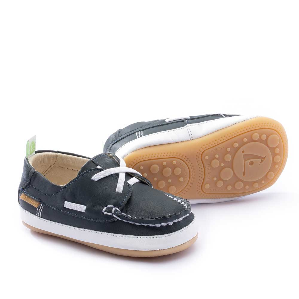 Boaty Baby Shoe in Navy (new style)