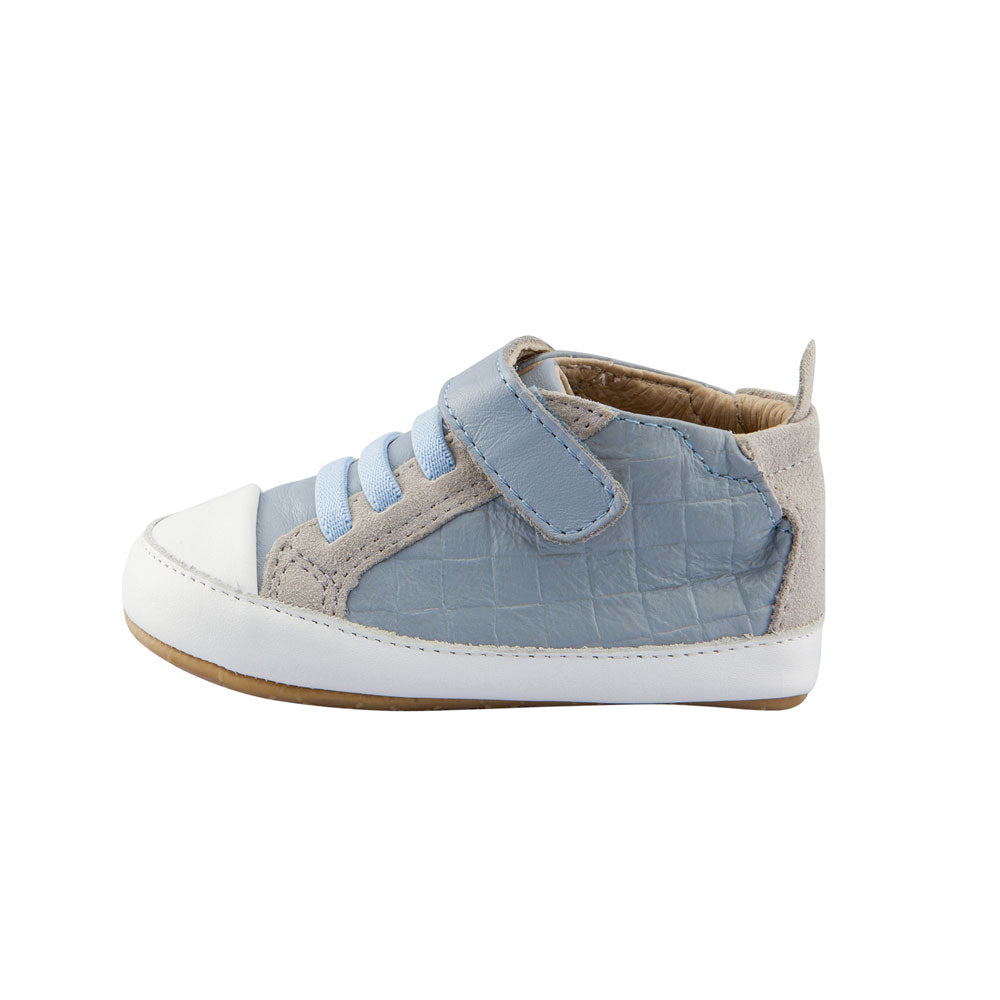 Network Baby High Top Dusty Blue