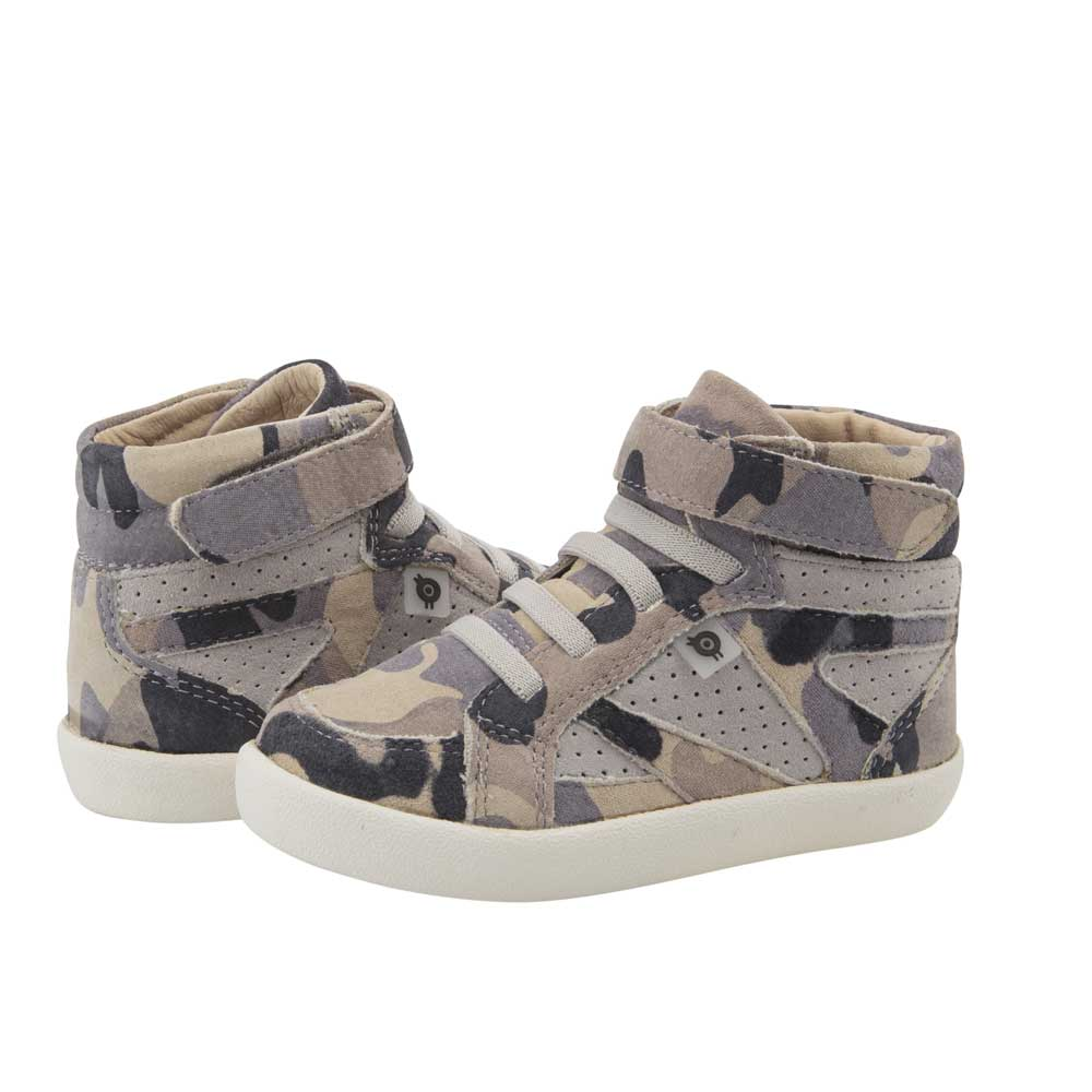 New Leader Kids High Top Camo