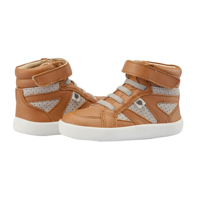 New Leader High Top Tan /Grey