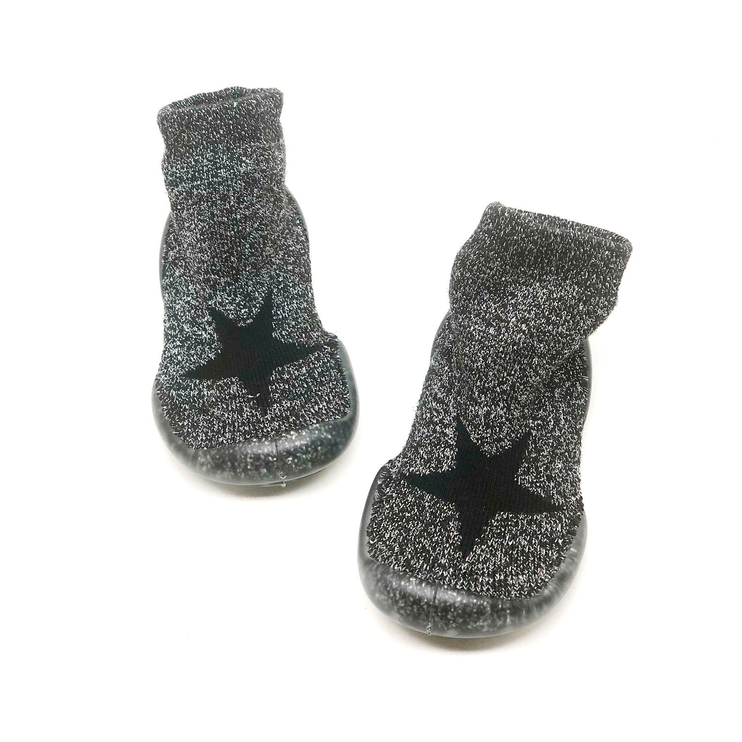 Nununu Silver Star Slipper sock.
