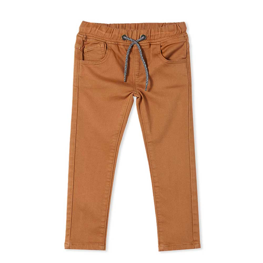Knit Denim Jean Ochre