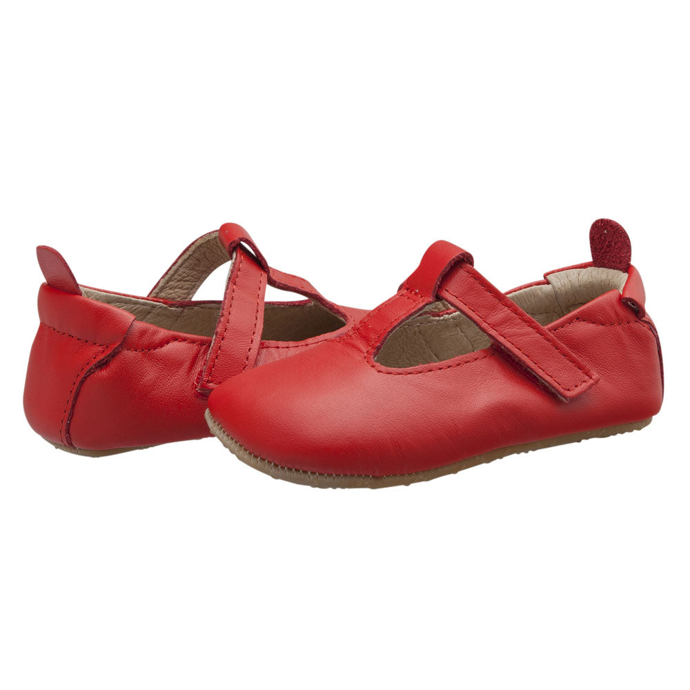 Ohme-bub Baby Shoe Red