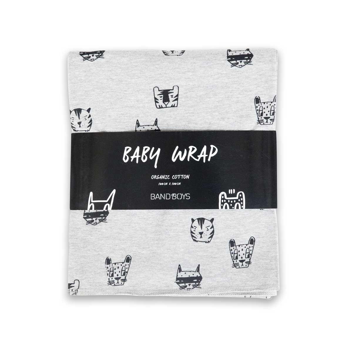 Organic Cat for Everyone Baby Wrap