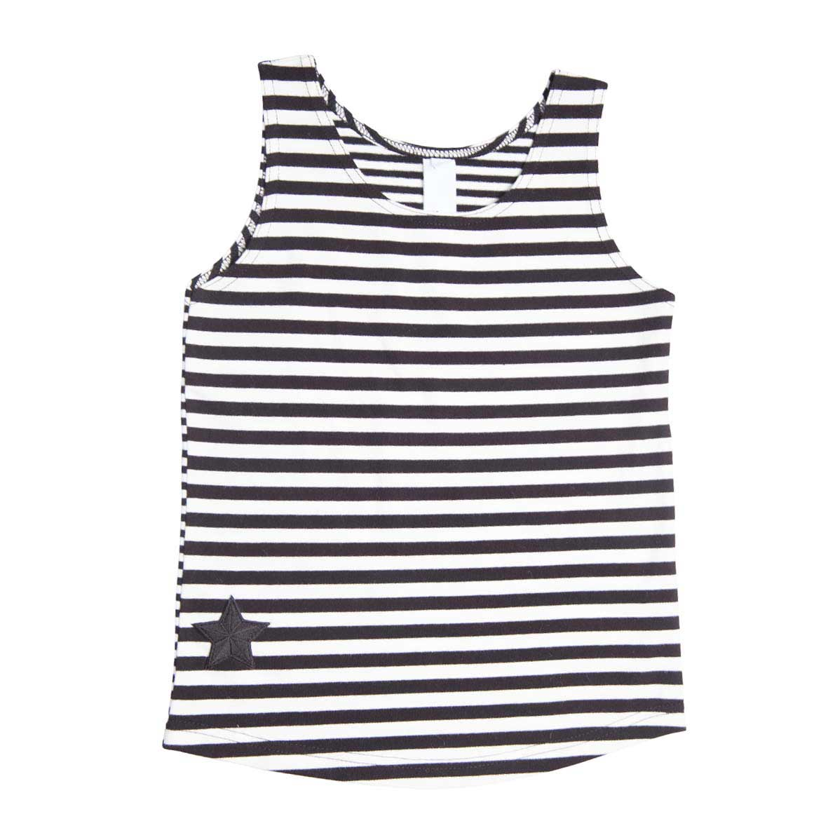 Pirate Stripe Muscle Tank