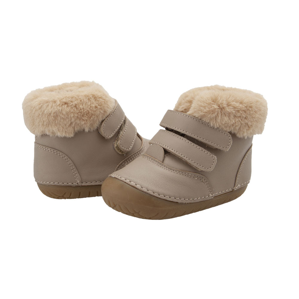 Pave Bear Toddler Boot Taupe