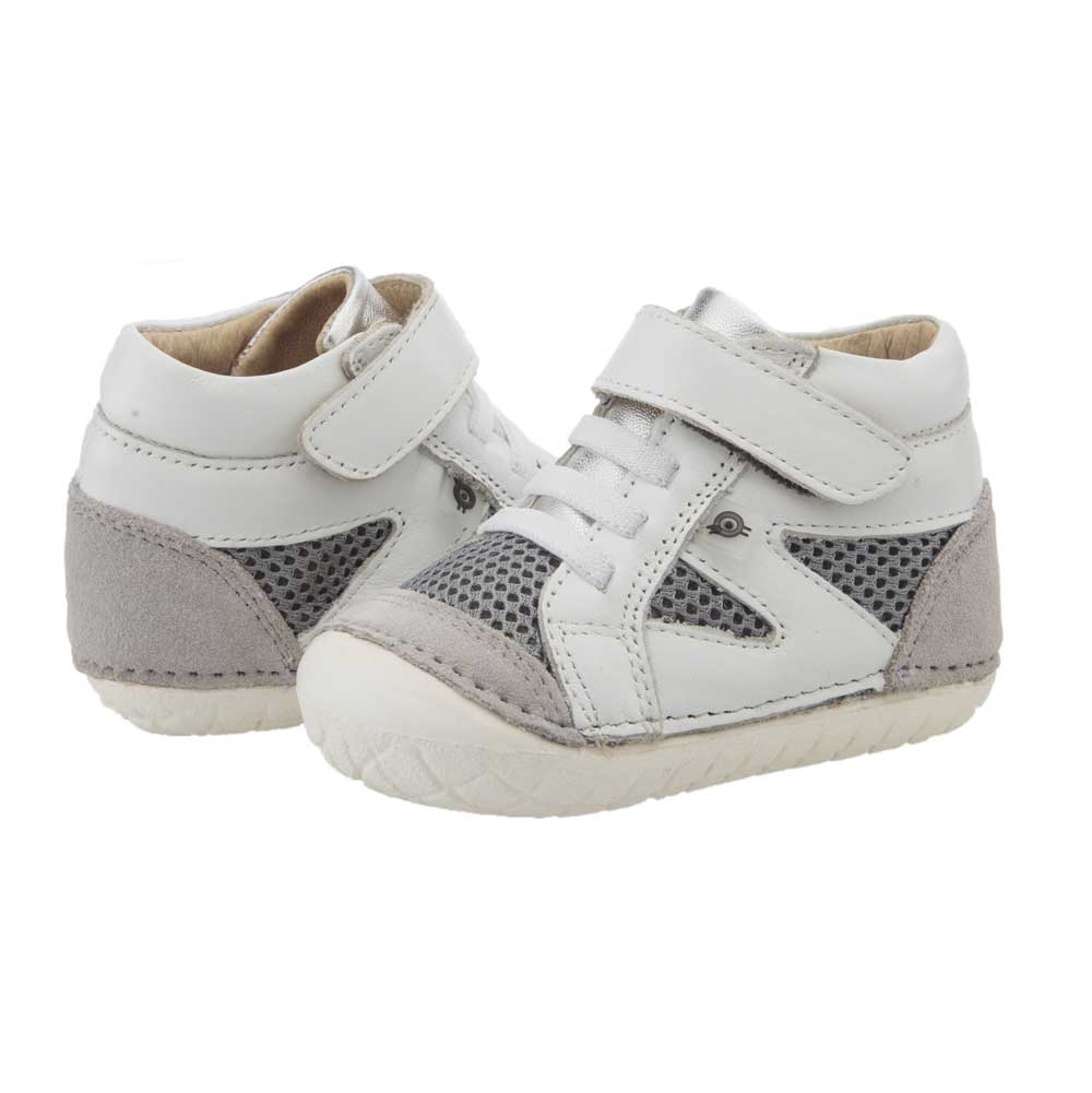 Pave Squad Toddler Shoe Snow/Light Grey