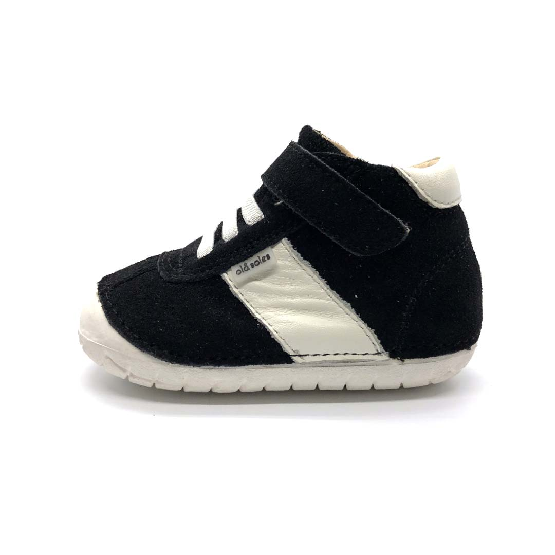 Pave Tudors Toddler High Top Black Suede