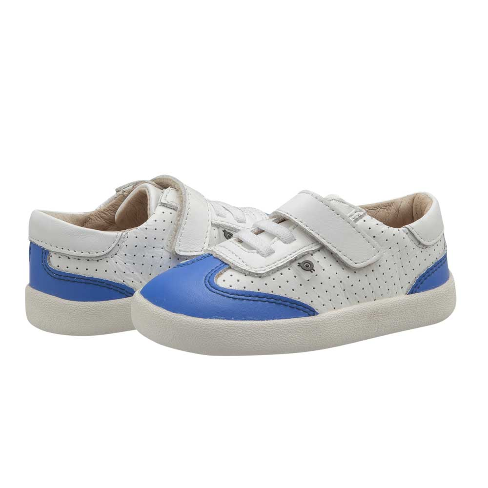 Paver Shoe Snow/Neon Blue