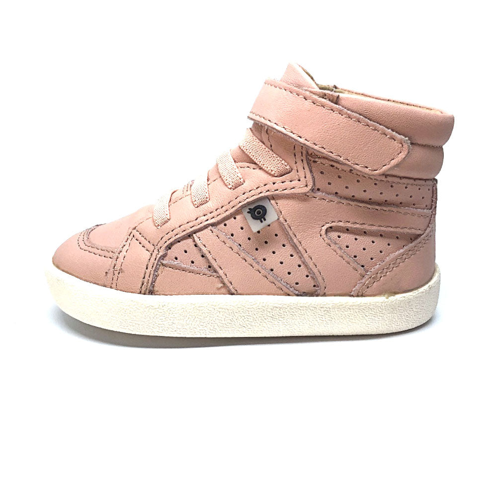 The Leader High Top Boots Powder Pink
