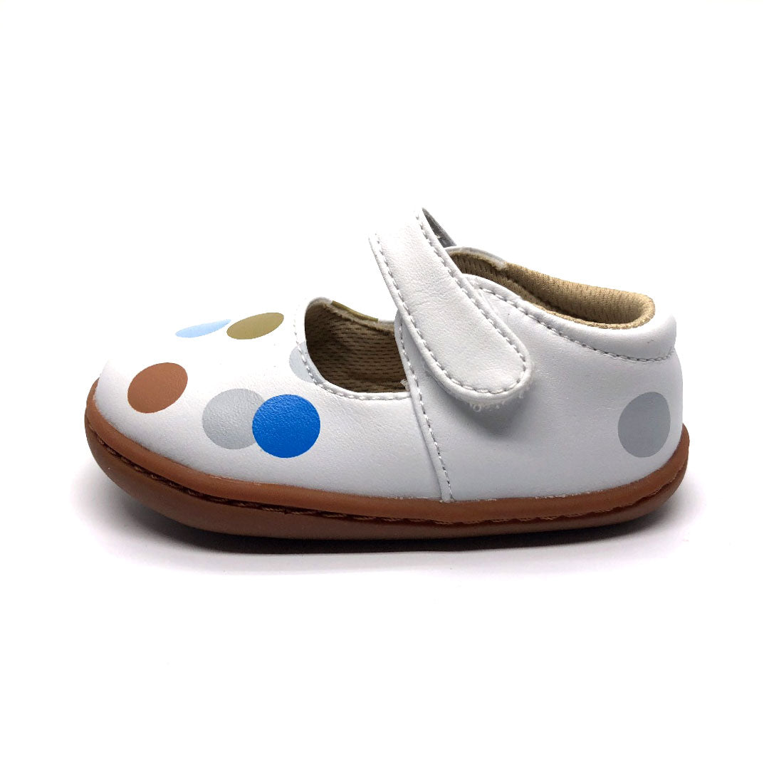 Polka Dot Mary Jane Baby Shoe