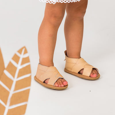 Cross Over Desert Baby Sandal