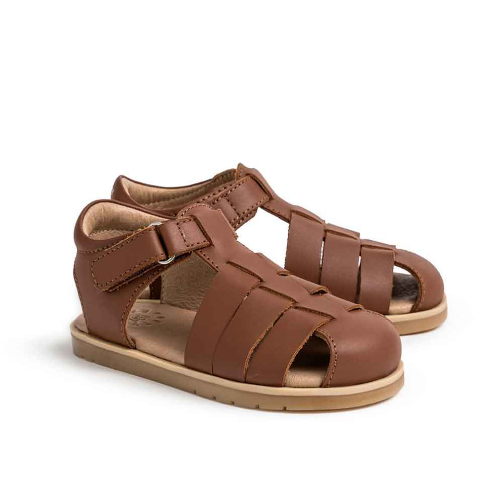 Rocco Sandals Dark Tan