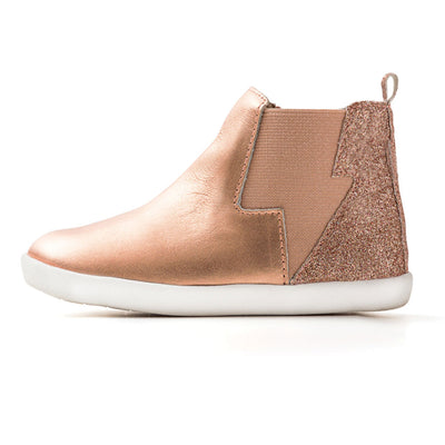 Electric Boot Rose Gold