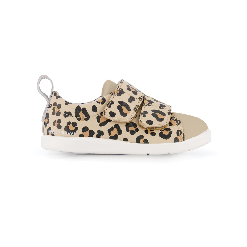 Brooklyn First Walker Shoe Leopard