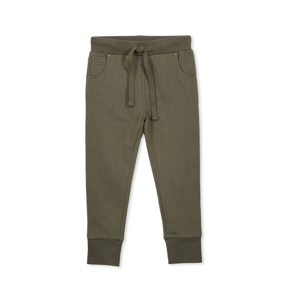 Relaxed Boys Trackpant Khaki