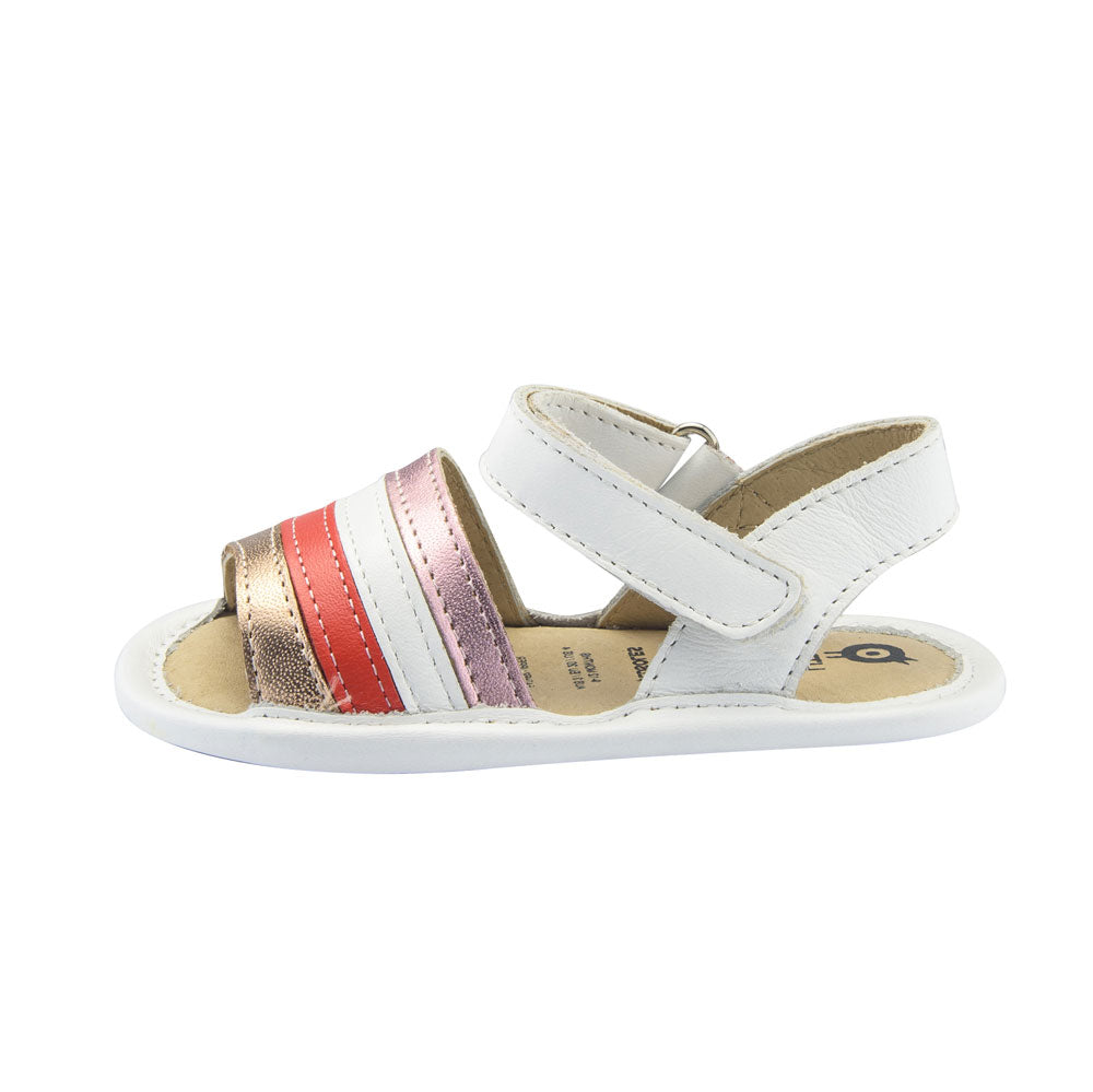 Rainbow Baby Sandal Snow Copper