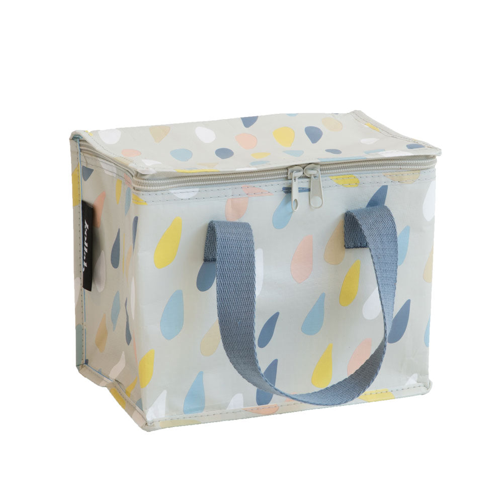 Poly Lunch Box Raindrops