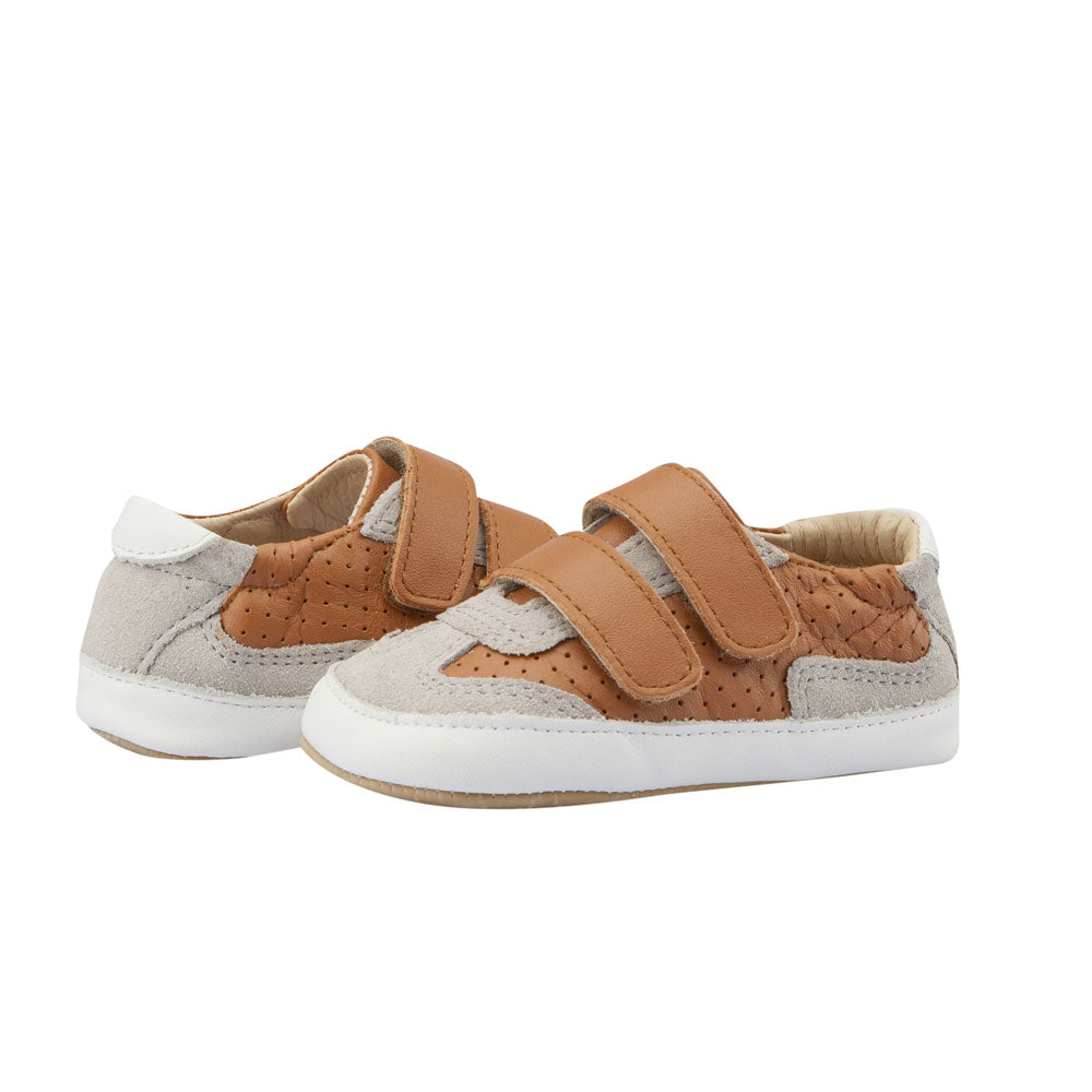 Revival Baby Sneaker Tan/Snow/Grey