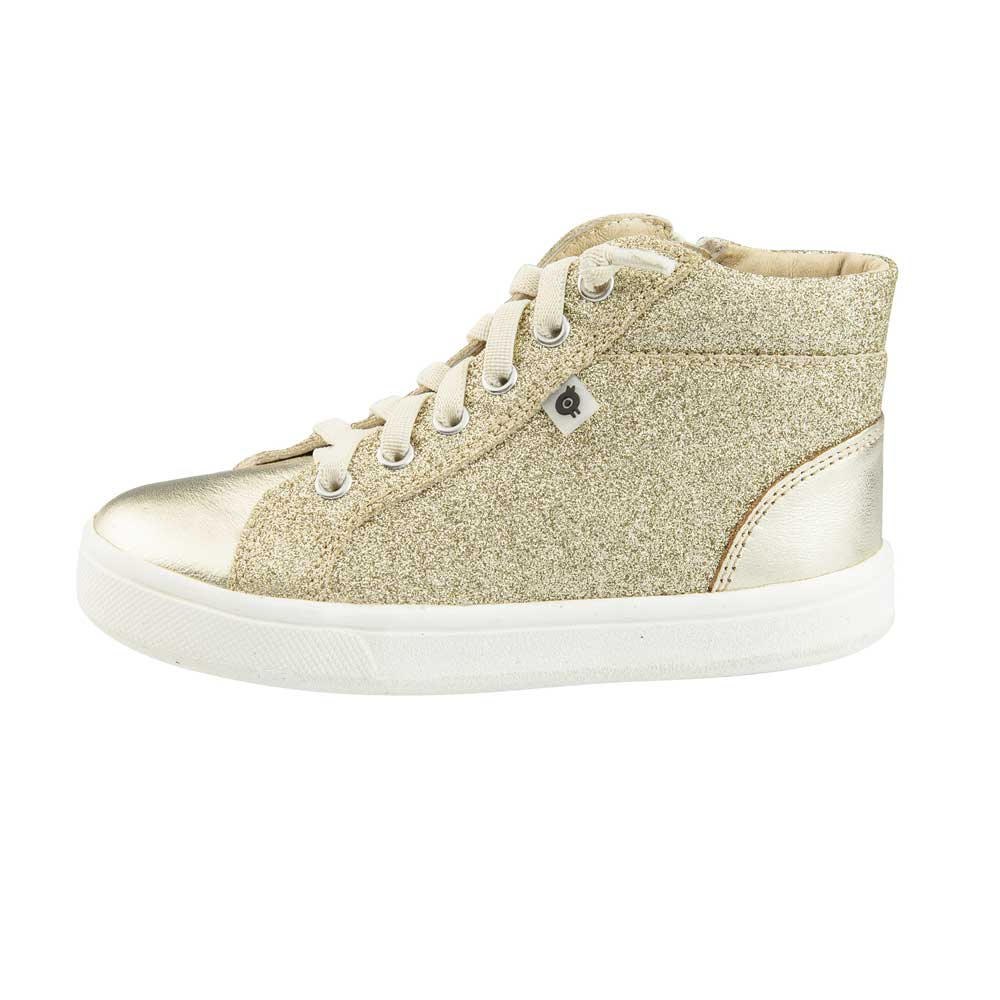 Ring Shoe Glam High Top Gold