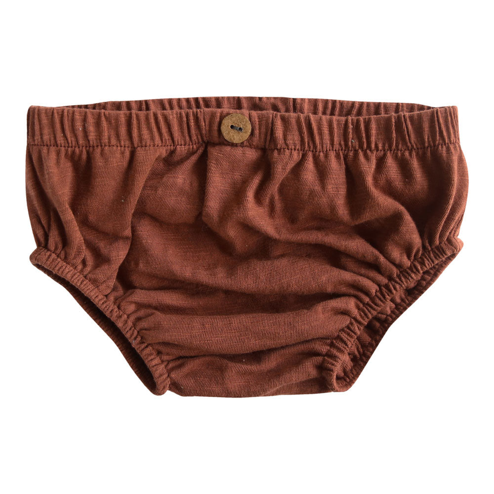 Organic Russet Button Bloomers